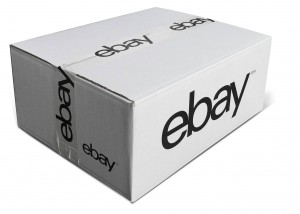 The eBay shipping carton and packing tape eBay - Versandlogistiker