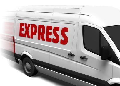 Sonderkonditionen für die Express Zustellung