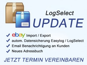 LogSelect Update & Neue Leitdaten DHL - Versandlogistiker