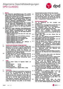 AGB DPD CLASSIC 07-2017 - Versandlogistiker